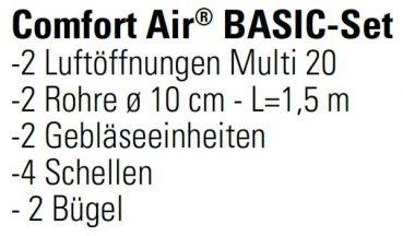 mcz vivo 90 pellet comfort air 10 5 kw mit basic set. Black Bedroom Furniture Sets. Home Design Ideas