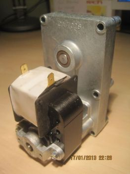 MELLOR-Getriebemotor FB1171, 1,5rpm, Wellen-Ø = 9,5 mm