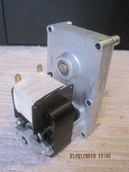 MELLOR-Getriebemotor FB1371 = Alt FB1183, 2,0rpm, Wellen-Ø = 9,5 mm